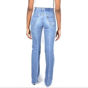 Vintage Levi's Distressed Bootcut Jeans